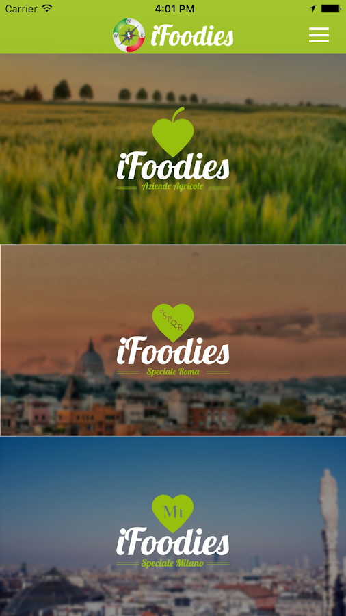 iFoodies- screenshot