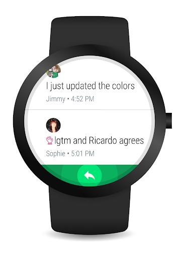 Hangouts app (apk) free download for Android/PC/Windows screenshot