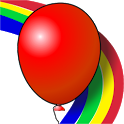 Kids game Balloons Rainbow icon