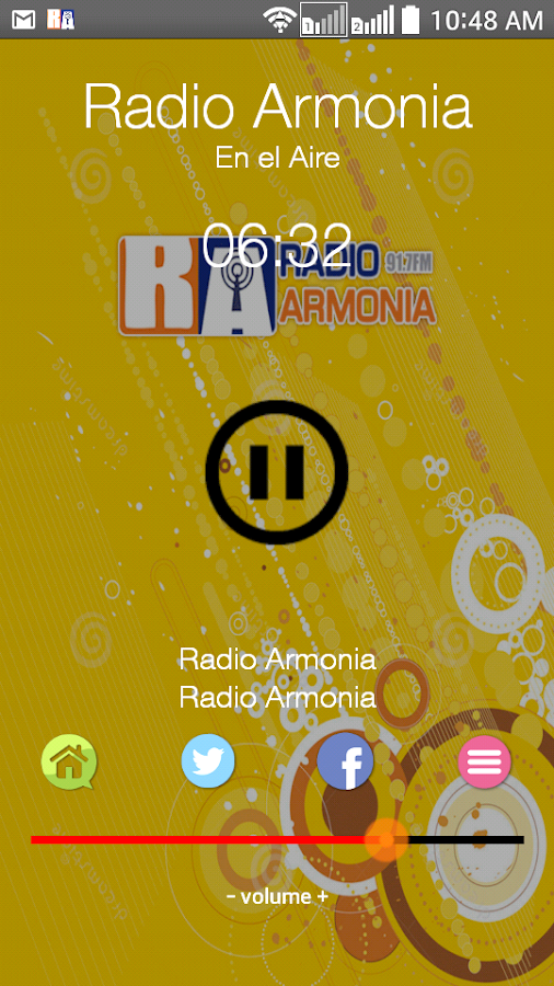 Radio Armonia- screenshot