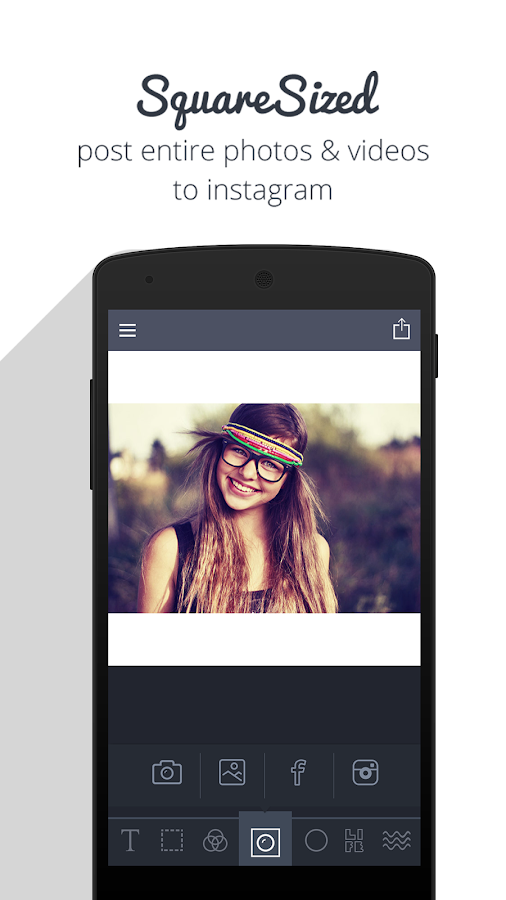Photo Background for Instagram - Photo Frames Fit- screenshot