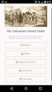 The Tasmanian Convict Finder- screenshot thumbnail
