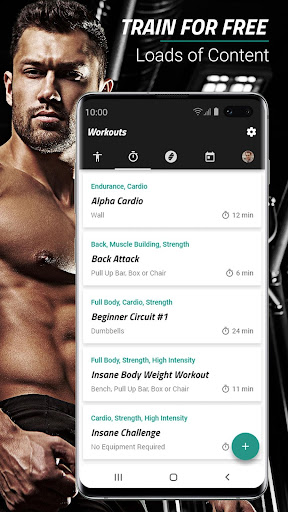 Spartan Home Workouts - No Equipment Apk 1