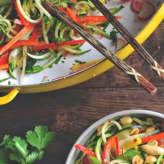 Vietnamese Zucchini Noodle Bowl