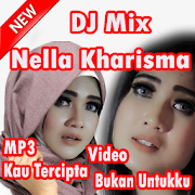 Nella kau tercipta untukku Kharisma Mix DJ Terbaru APK