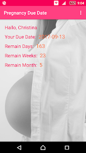 Pregnancy Due Date Calculator- screenshot thumbnail