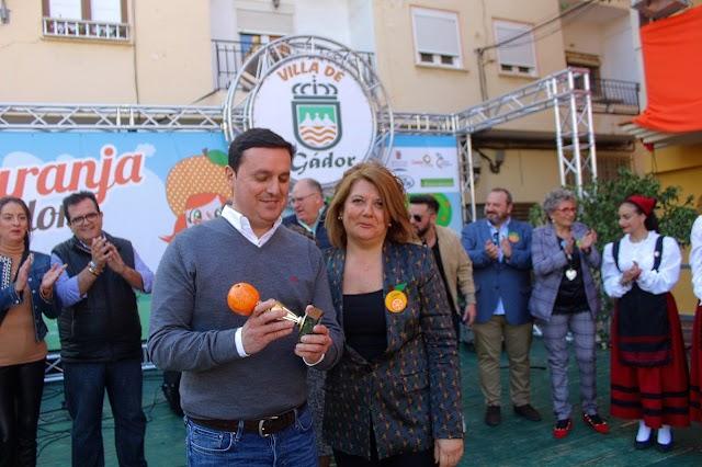 El presidente de la Diputación recibió una distinción del Ayuntamiento de Gádor.