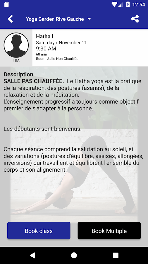 Yoga Garden Rive Gauche - Android Apps on Google Play