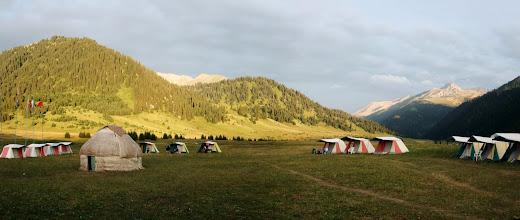 Photo: Karkara camp. 2200m. 23.07.2008 *** Базовый лагерь Каркара.