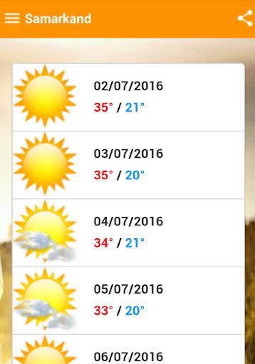 Погода в Узбекистане 235 screenshots 2