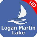 Logan Martin  Lake  - Alabama Offline GPS Chart icon