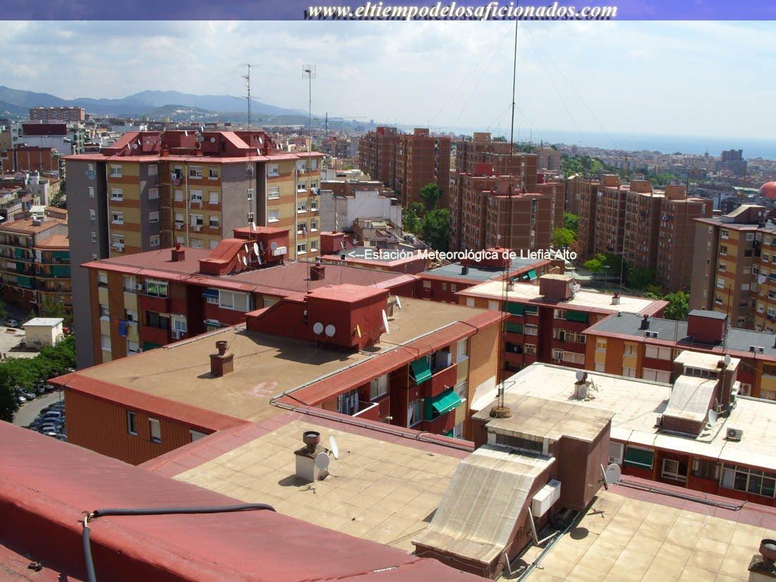 Photo: Aquí tenemos nuestra Estación Meteorológica de www.eltiempodelosaficionados.com