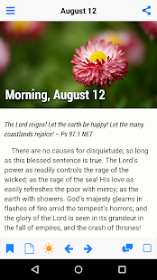 Morning and Evening by Charles Spurgeon - náhled