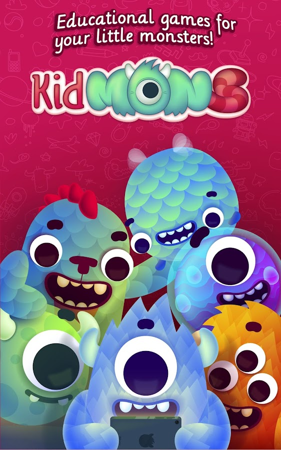 Kidmons - Educational games- screenshot