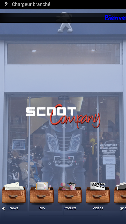 Peugeot Scooter Paris- screenshot