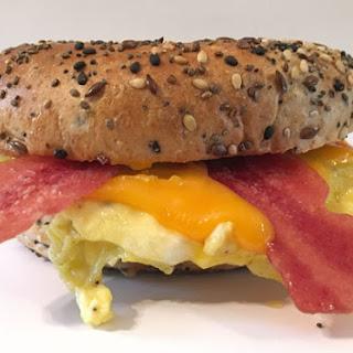 Basic Bagel Breakfast Sandwich.