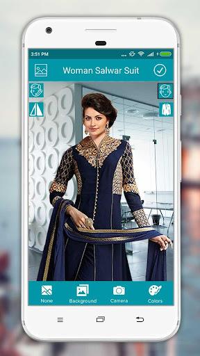 Women Salwar Suit Photo Editor screenshot 4