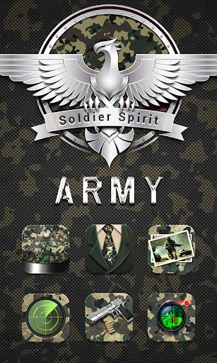 Army GO Launcher Theme