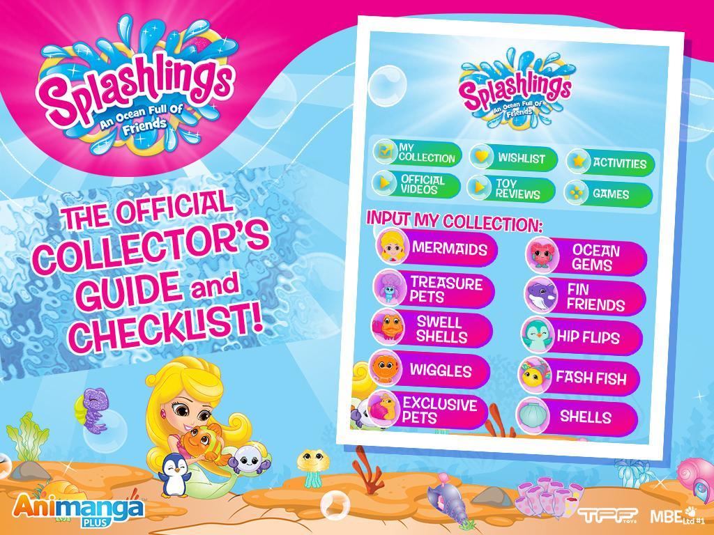 Splashlings - Collector Guide- screenshot