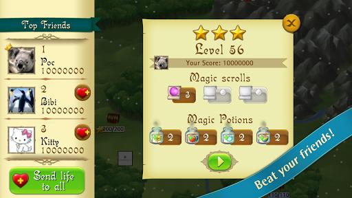 Bubble Witch Saga screenshot 2