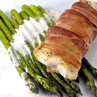 Bacon Wrapped Cod