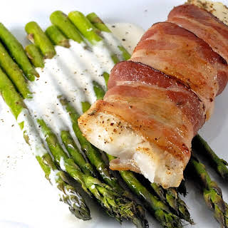 Bacon Wrapped Cod.