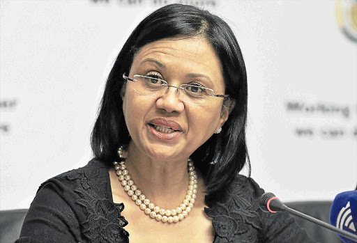 Minister Tina Joemat-Pettersson accuses unnamed officials of dirty tricks