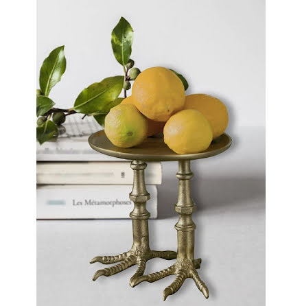 Tray XXL Birds Feet brass