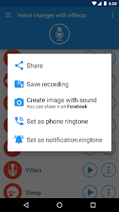 Voice changer with effects [Premium] v3.7.5 5