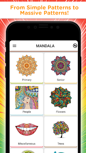 Mandala Coloring Book - Free Adult Coloring Pages 1.13 screenshots 2