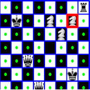 Chess Queen,Rook,Knight and King Problem