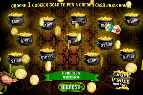 Crock O'Gold Rainbow Slots TV- screenshot thumbnail