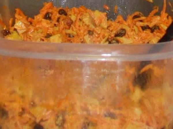 Carrot Almond Salad