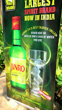 Photo: JINRO, a popular Korean Soju brand is here now and looks like promoting hard!? The advertisement seen at Malaka Spice, the 5th lane of Koregaon Park. 19th March updated (日本語はこちら) -http://jp.asksiddhi.in/daily_detail.php?id=487