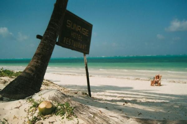 Ferragosto a Zanzibar di dedo