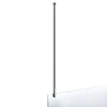 Barre de stabilisation au plafond pour paroi de douche