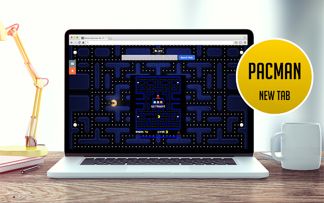 Pacman Game New Tab
