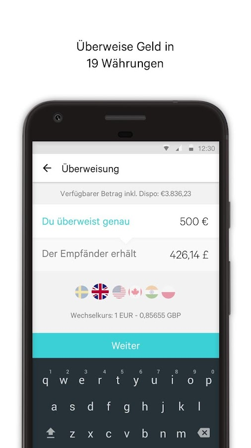 N26 – Banking by Design – Screenshot