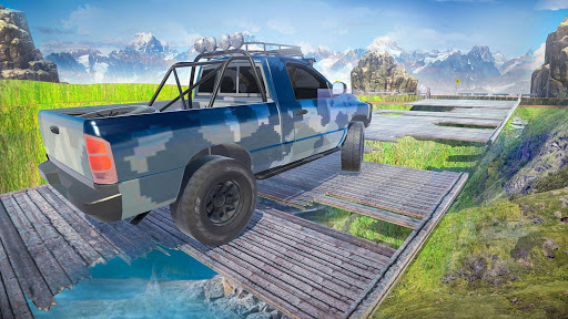 Offroad Jeep Army SUV Mountain Driving Simulator 1.3 screenshots 9