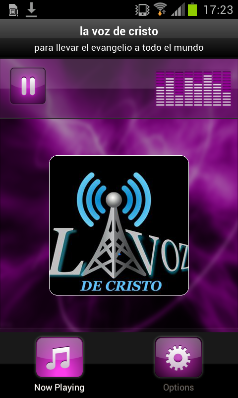 la voz de cristo- screenshot