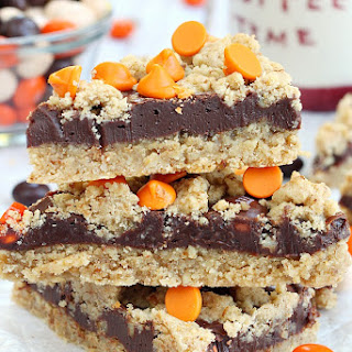 Pumpkin Spice Latte Fudge Bars