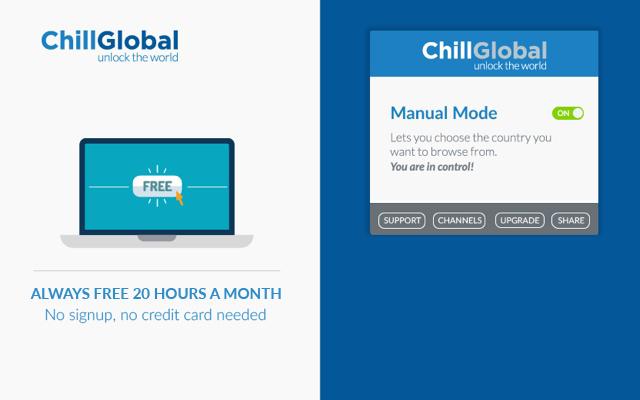 ChillGlobal VPN/PROXY - Access Any Website!!