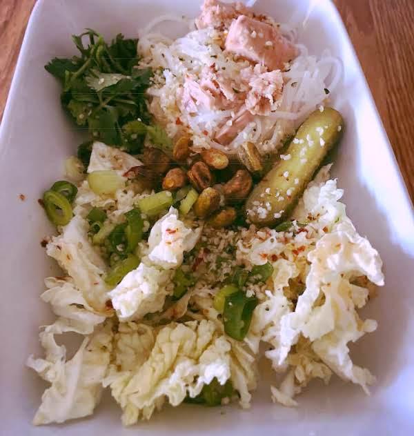 Asian Inspired Tuna Budda Bowl (cold Noodles) Recipe