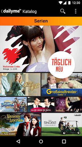 dailyme TV, Serien, Filme & Fernsehen TV Mediathek 20.05.02 screenshots 6