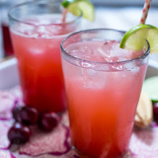 Cherry Lime Rickey with Gin