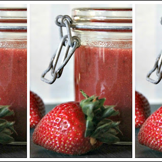 Sugar-Free Strawberry Coulis.