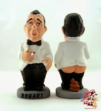Photo: Caganer Humphrey Bogart