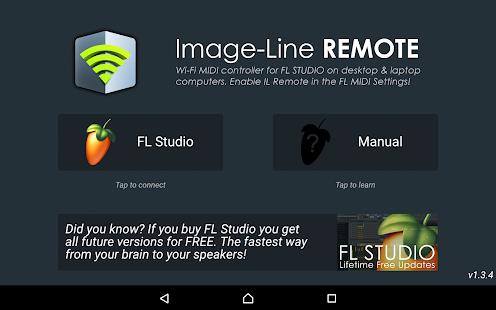 Image-Line Remote Screenshot