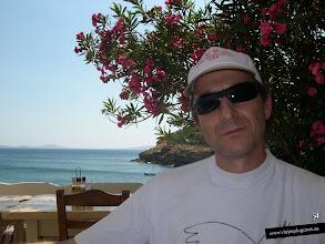 Photo: Restaurante Petran Tavern, en la playa Agios Stefanos. Mykonos • http://www.viajesylugares.es/grecia/mikonos.html
