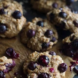 Blueberry Banana Bread Oatmeal Cookies.
